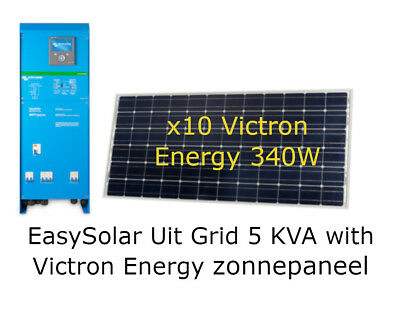 Easy Solar 5 KVA 230 AC – 48 Volts Alles-in-één Zonne MACHT Oplossing