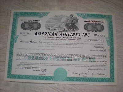 USA -   3  x   American Airlines, Inc.    div.  $   10/427-6