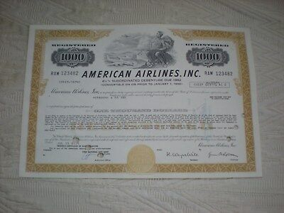USA -  3  x   American Airlines, Inc.    1000 $   10/427-3