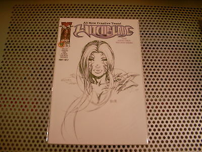 Witchblade : Issue #40 (DF Exclusive Sketch Cover)