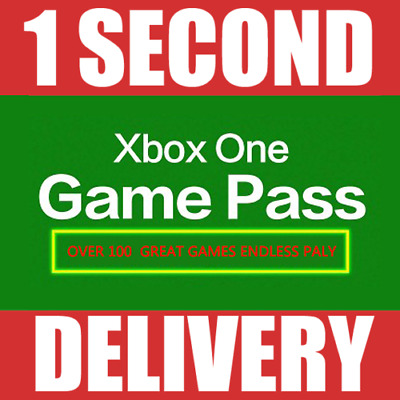 Xbox One Game Pass 14 Days Subscription Trial (Instant Delivery!) 2 Weeks