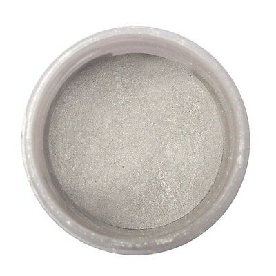 Culpitt - Colour Splash Edible Pearl Platinum Lustre Dust - Powder  Food Colour
