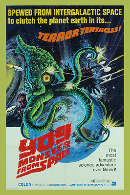 "Vintage - Yog - Monster From Space Movie Poster 12"" X 18"""