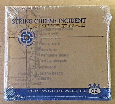 SCI String Cheese Incident - New CD - On The Road FL 4/23/02 - Live 3 Disc Set