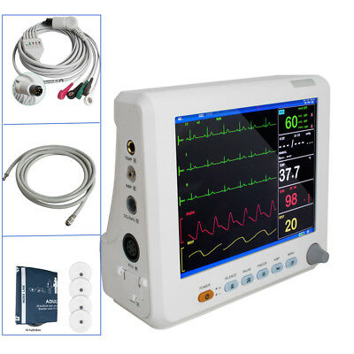 New arrival 6-Parameters Vital Sign Patient Monitor Machine Hospital ICU Monitor