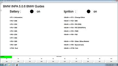 BMW INPA 5.0.6 One Click Install Tool32 WINKFP NCS Expert Dummy Coding Tool