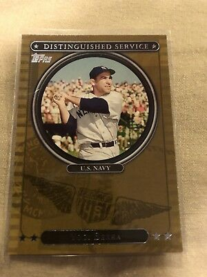 2007 Topps Distinguished Service Yogi Berra # DS2