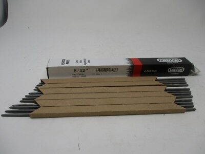 """1 DOZEN WITH FREE WOODEN FILE HANDLE OREGON ROUND FILES 4mm 5//32/"""" 12 PACK"""