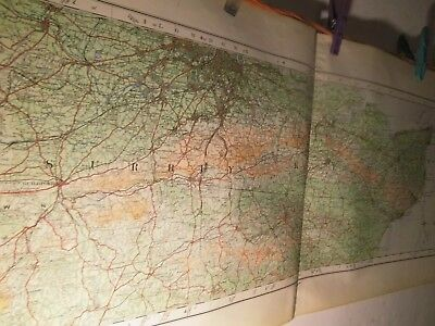 South-East England-Surrey-Kent-A Sectional Map 1922-Ordnance Survey Full Colour