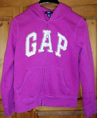 Girl's GAP sweatshirt hooded top size UK 13 years
