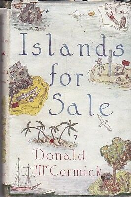 1950 ISLANDS FOR SALE DONALD McCORMICK BUYING DESERT ISLAND AROUND THE WORLD