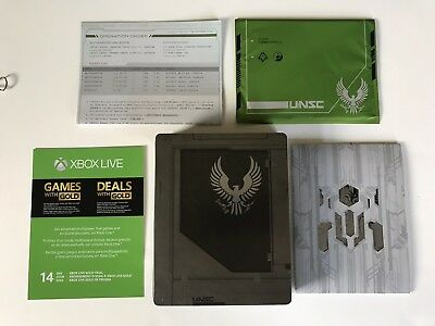 Halo 5 Guardians Limited Edition Steelbook Case No Game