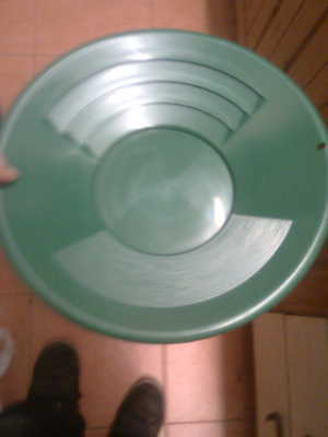 Gold Prospecting  Pan 14 Inch In Green