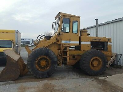 DRESSER 65C Wheel Loader, runs great, needs a little work, great for snow!