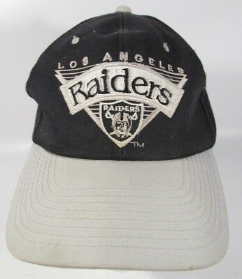 89de9d97ff1 Vintage Los Angeles Raiders Vintage SnapBack Hat Rare Team Football NFL 90s
