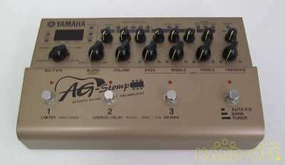 YAMAHA AG-STOMP ACOUSTIC Guitar Electric Pre-Amplifier Pedal W