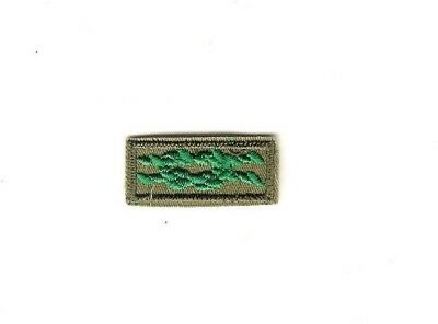 Boy Scout Adult Traing Award Knot Patch khaki twill with clear plastic back