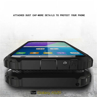 For Samsung Galaxy A3 A5 A7 2017 A6 A8 2018 Shockproof Hybrid Armor Case Cover