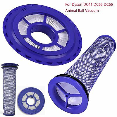 HEPA Pre & Post Replacement Filter For Dyson DC41 DC65 Animal Vacuum Cleaner Kit