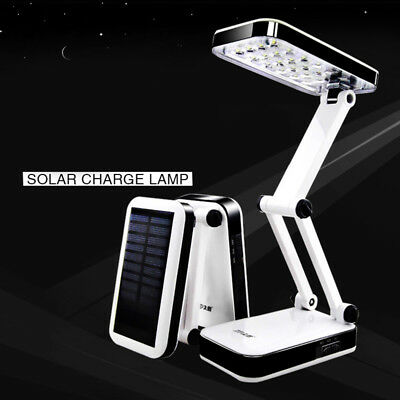 Solar Battery Rechargeable Desk Lamps Home Outdoor Sensor Frosted Glass Led Bulb