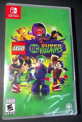 LEGO DC Super Villains (Nintendo Switch) NEW