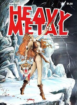 Heavy Metal Magazine all 315 issues 1977-2012 + Specials + R Publications 6 DVDs