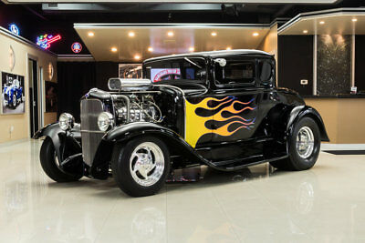 1931 Ford Model A Coupe Street Rod Model A Coupe! Supercharged 383ci V8, TH350 Automatic, Disc, Posi, Steel Body