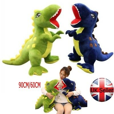 Uk Giant Dinosaurs Rex Soft Plush Toys Kids Large Stuffed Animal