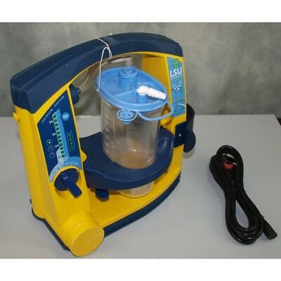 Laerdal Suction Unit LSU with Serres Canister, with NEW battery & Mains lead.