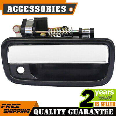 Chrome Texture for 95-04 Tacoma Front Passenger Side RH Exterior Door Handle