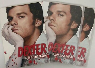 Dexter~The Complete First Season~DVD~2007~4-Disc Set~Very Good Pre-owned Cond