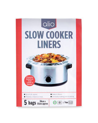 Alio Slow Cooker Liners 5 Bags - 4 Packs (20 Bags)