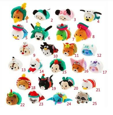 Tsum Tsum Mini Plush Christmas 2018 Advent Calendar Doll