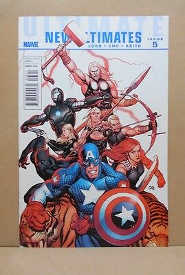 ULTIMATE NEW ULTIMATES #5 of 5 2010/11 Marvel  9.0 VF/NM Uncertified