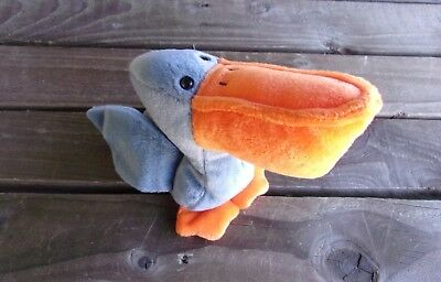 Scoop The Pelican Beanie Baby Vintage Ty Original Babies Bean Bag Plush