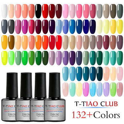 T-TIAO CLUB Protein Jelly Gel Nails Polish Soak Off UV Gel Varnish Transparent