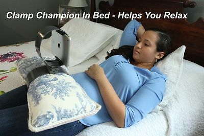 Clamp Champion, Smart Holder For All Tablets & Phones Versatile/Mount Hand Free