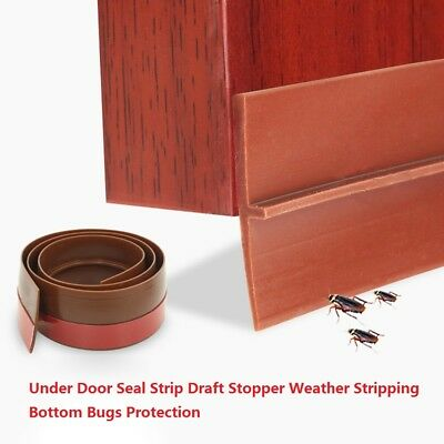 Under Door Seal Strip Draft Stopper Weather Stripping Bottom Bugs Protection