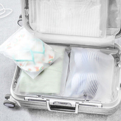 3-Size Travel Bags Waterproof Clothes Storage Cube Luggage Packing Cube Pouch Ea