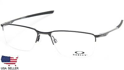 20461d15af1 NEW OAKLEY SOCKET 5.5 OX3218-0154 BLACK EYEGLASSES GLASSES FRAME 54-18-138