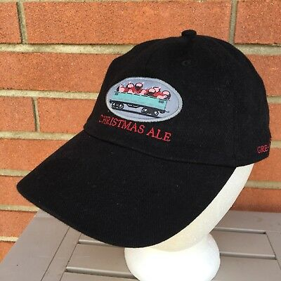 Great Lakes Brewing Christmas Ale Beer Baseball Hat Cap Men's L XL Cleveland OH