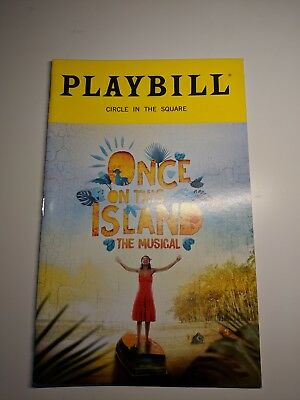 Once On This Island Playbill Book New York City Nyc Broadway September 2018