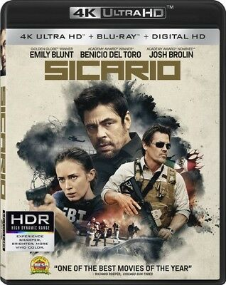 Sicario 031398242819 (Blu-ray Used Very Good)