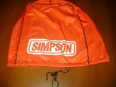 Motorcycle Helmet Bag Microfiber Simpson Helmet Bag Carry Helmet Duffle Red