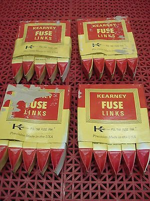 Lot of 5 Kearney FitAll Fuse Link KS 65A CAT. 21065 Cooper Power Systems  NEW