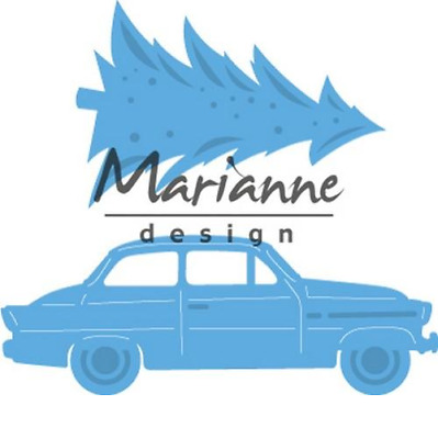 Marianne D Creatable Driving home for christmas LR0567 394567