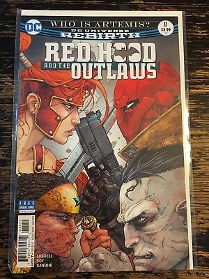 Red Hood and the Outlaws #11 (DC) Free Combine Shipping