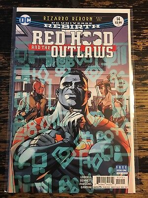 Red Hood and the Outlaws #14 (DC) Free Combine Shipping