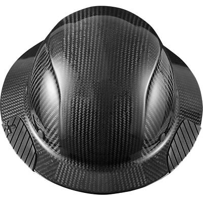 Lift Safety Hdc-15Kg Dax Carbon Fiber Full Brim Hard Hat, Black
