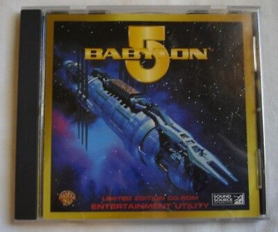 Babylon 5 CD Rom PC Computer game  Windows 3.1 or later